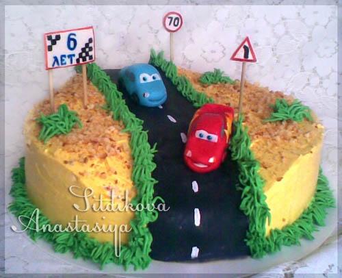 Как украсит торт для мальчика в домашних условиях