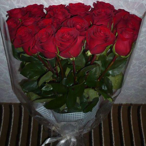 фото с букетиком роз