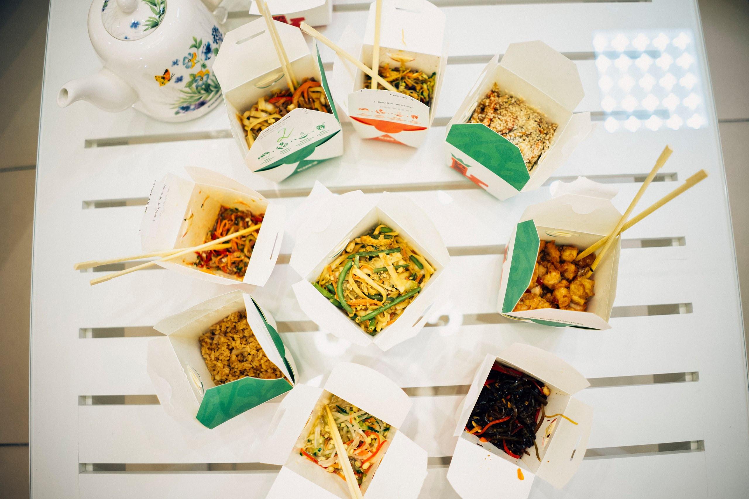 Фото: Доставка китайской еды Kims
