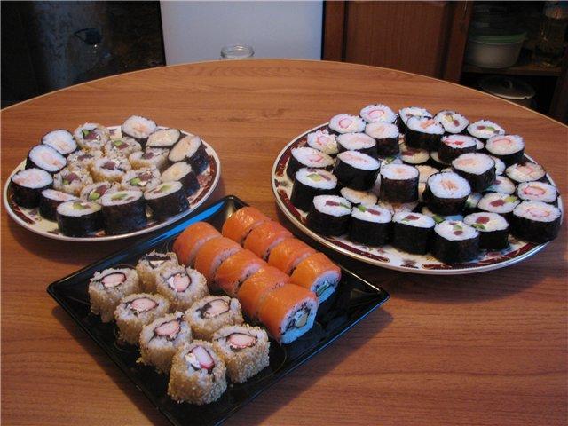 Как сделать суши или роллы на дому