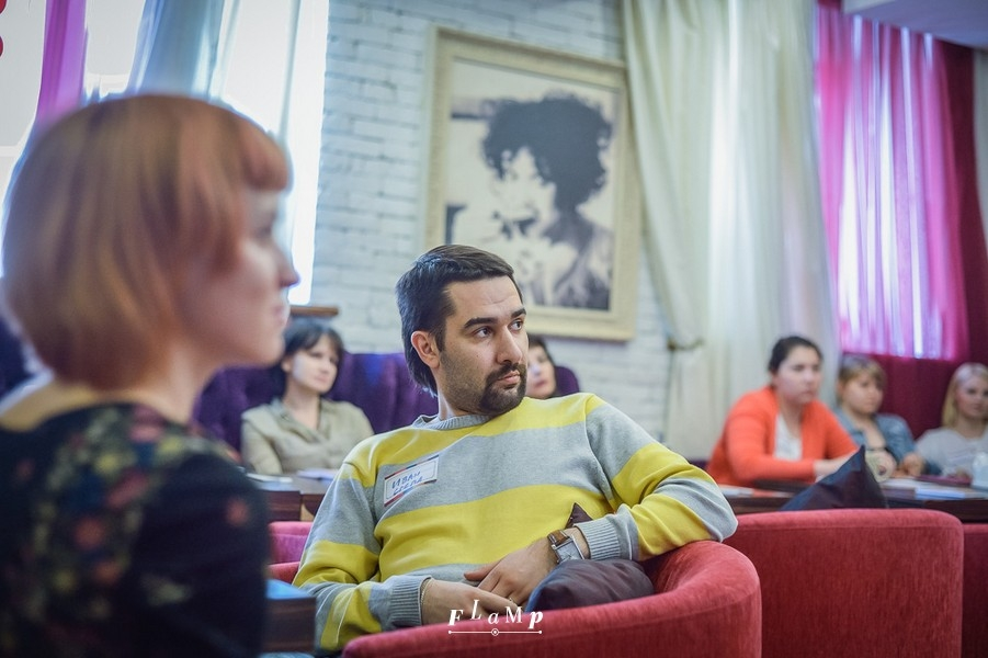 Иван Медведевских, кофейня Crema.