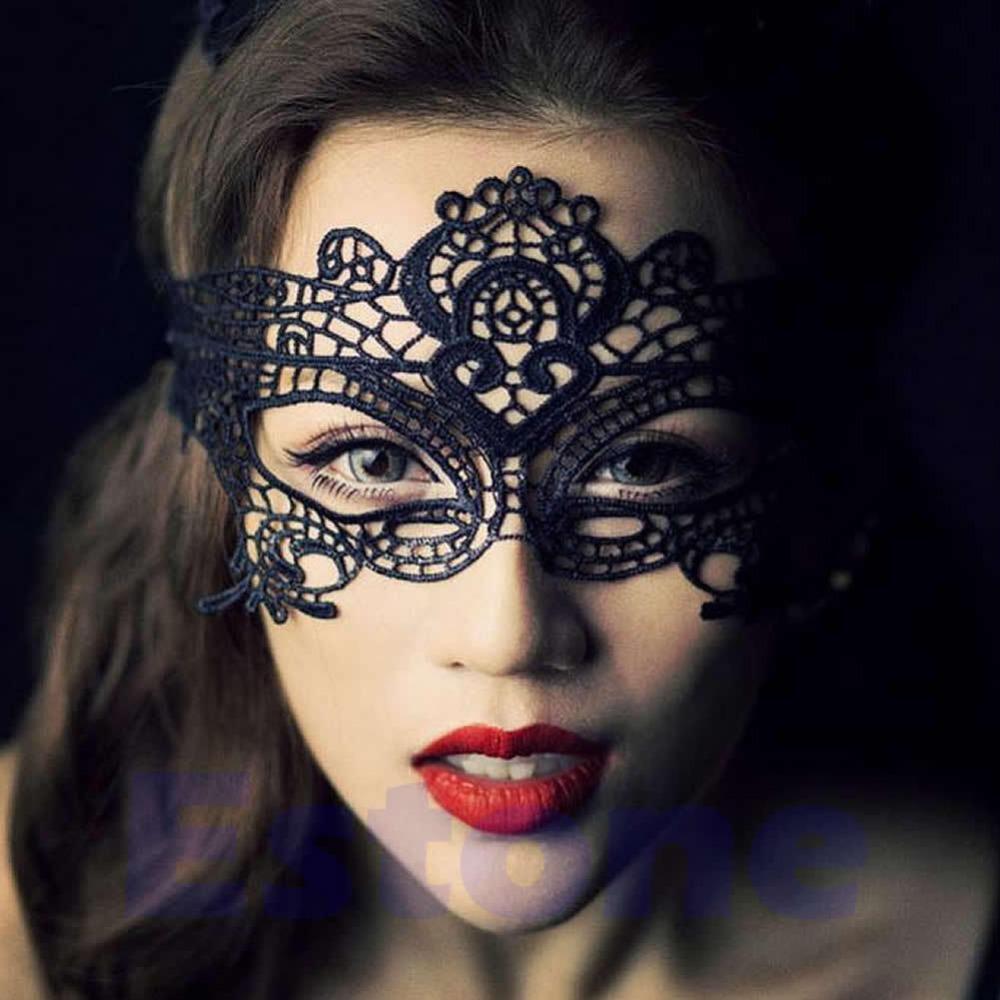 Как сделать кружевную маску