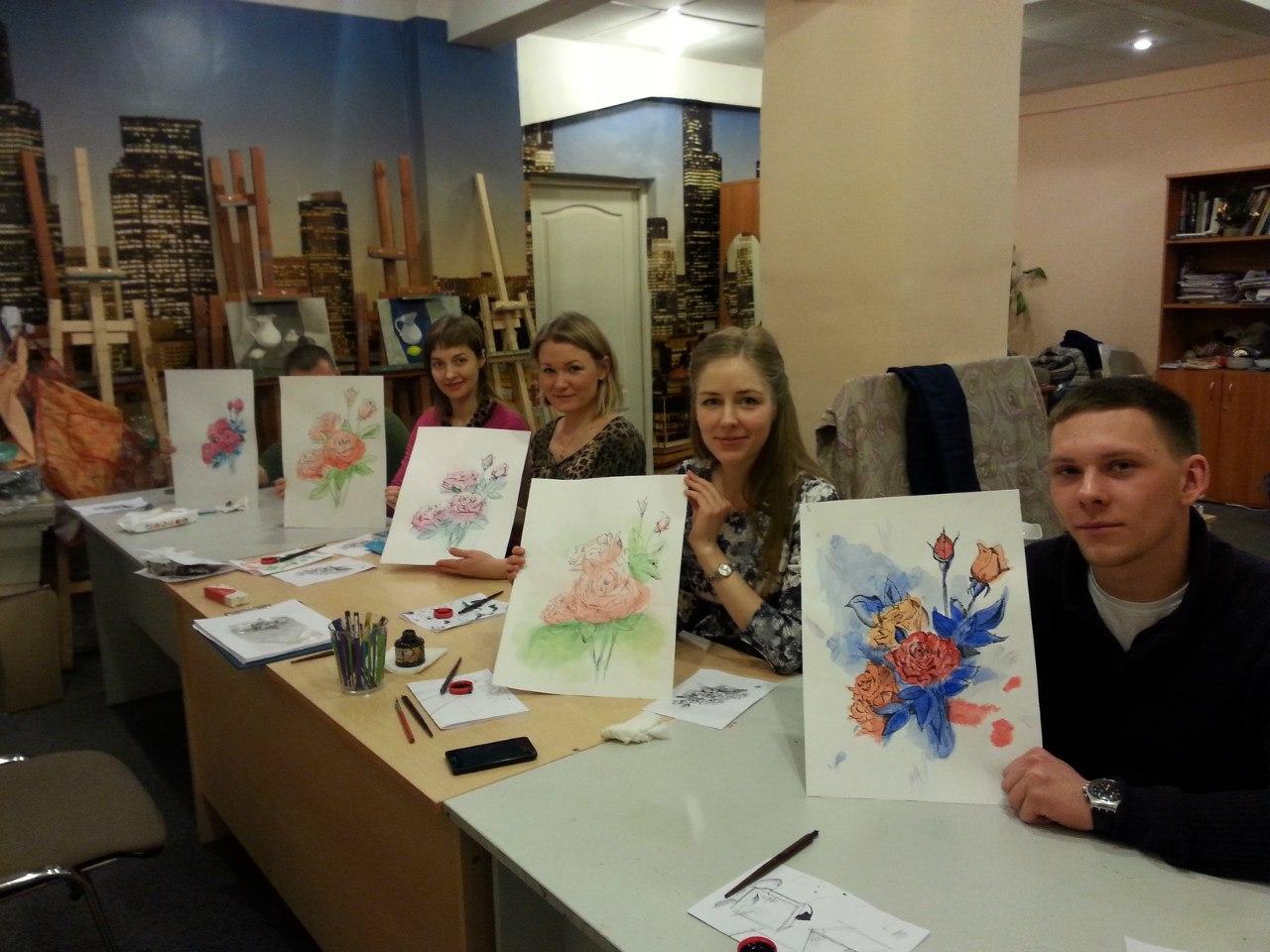 Фото предоставлено школой рисования Repinschool