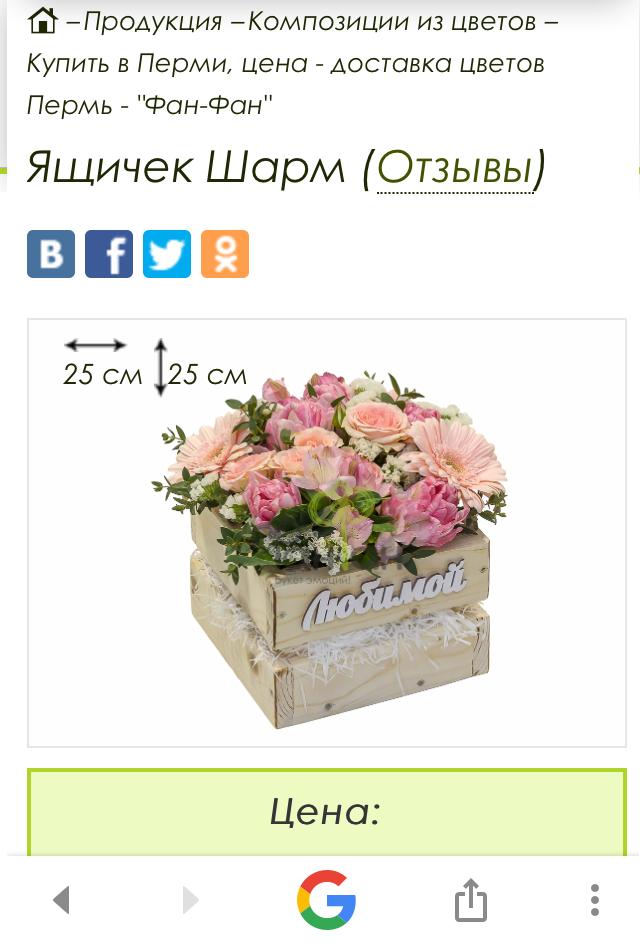 Доставка цветов на дом в перми
