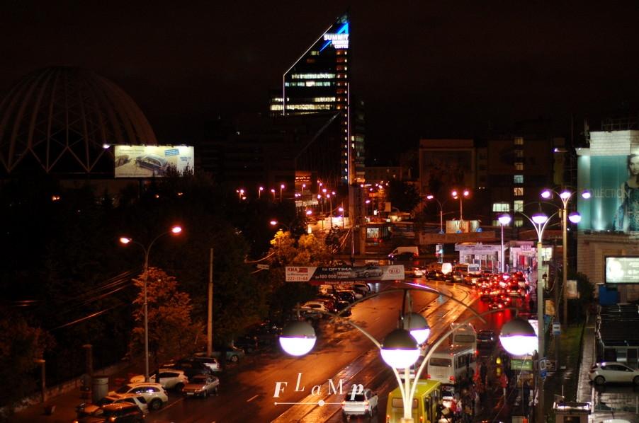 Вид на Цирк и ул. 8 марта