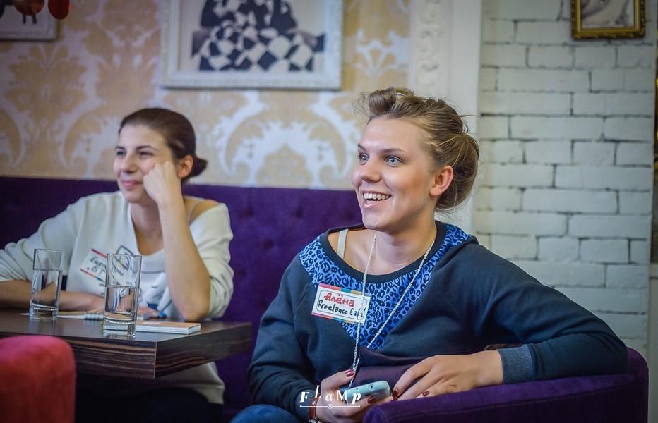 Екатерина («Большие Тарелки») и Алена (Freelance Cafe и Travelers Coffee).