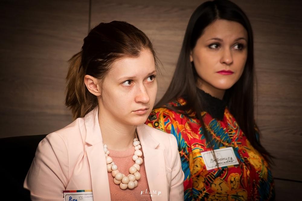 Маргарита Шмидт, «Галилео», и Вероника Караваева, «Росинтер».