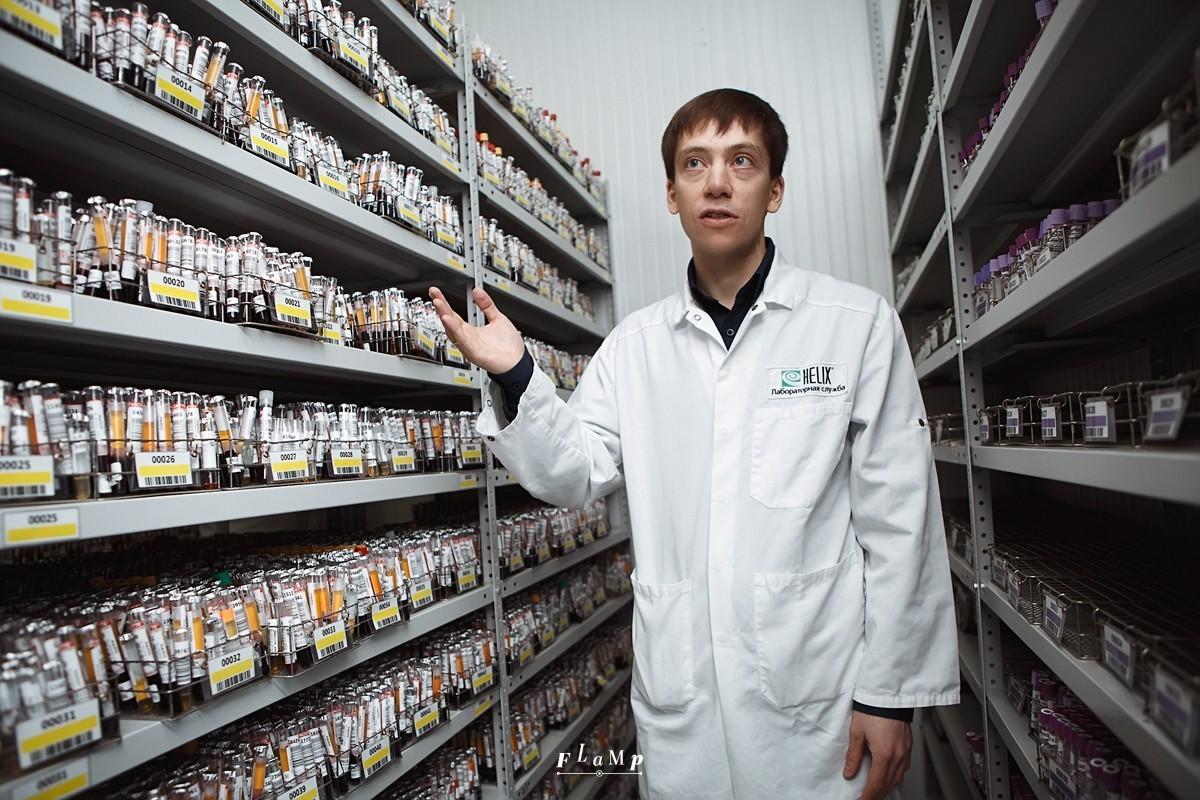 Хранилище лаборатории