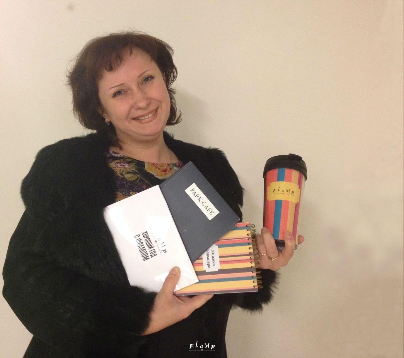 На фото Ольга, автор отзыва №200 000.