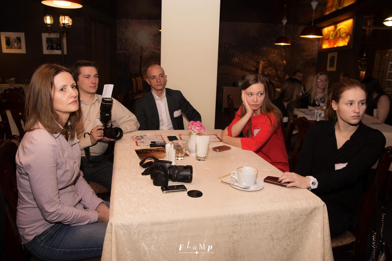 Участники встречи из компаний «Омномдом.ру», «Желдорэкспедиция», «Холидей», «Лента».
