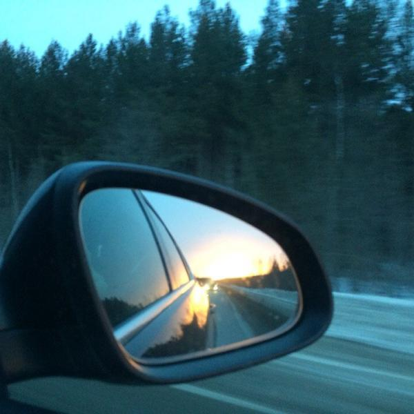 По дороге на Белую