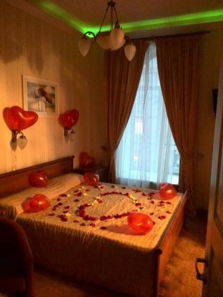 романтический вечер в отеле