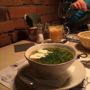 Щавелёвый суп