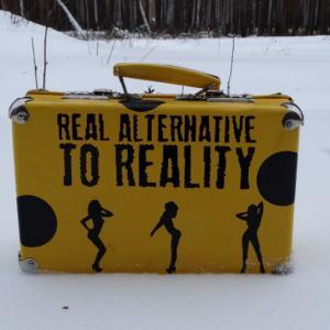 Мои наклеечки на чемодане!