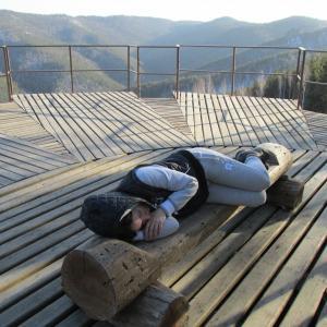 ....решила отдохнуть...