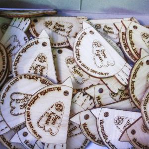А вот и наши магнитики, которые печатал Юпитер. Ребят были просто в восторге!