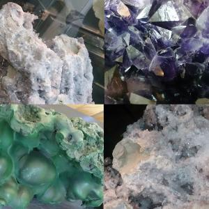 Некоторые из камней в музее