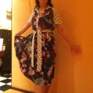 Одно из первых и любимых платьев)