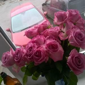 Это цветы к обеду следующего дня.