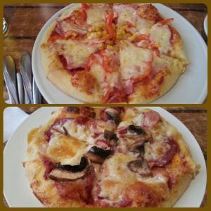 Пицца по-деревенски и баварская