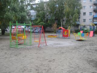 Вся площадка не видна, но это её большая часть))