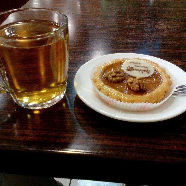 Торт с грецкими орехами и бананами фото 7