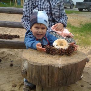Счастливый ребенок, через неделю после операции.