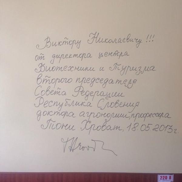 Отзывы посетителей пишутся не в книге а на стенах кафе
