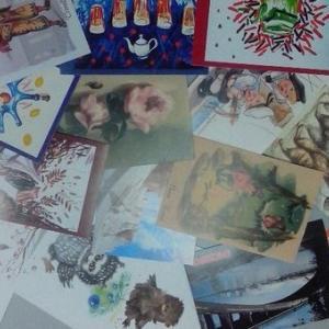 Почтовык карточки из магазина Книжный мир