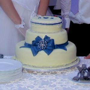 Наш свадебный торт!