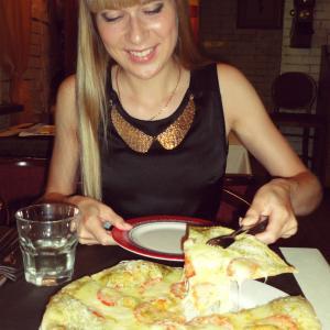 мой фаворит - пицца Капрезе в этот раз была особенной!