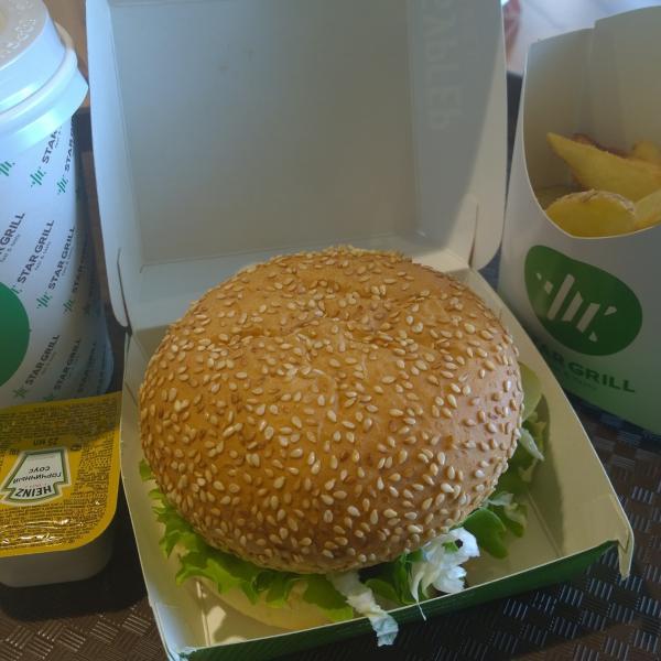 Гриль бургер