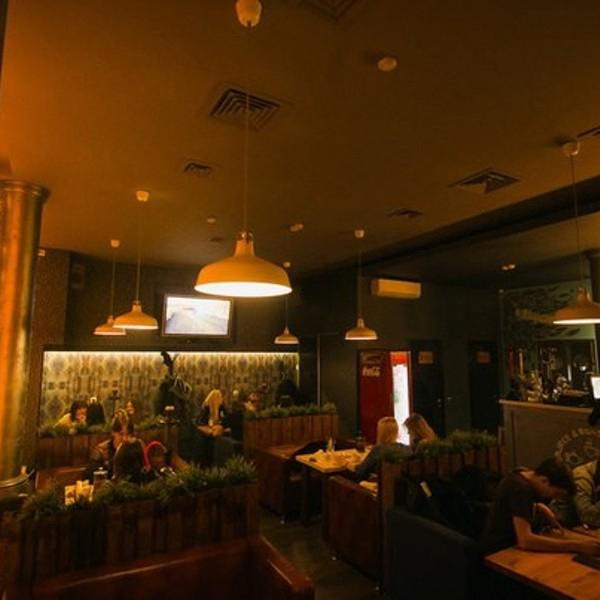Кофейня на Маркса.