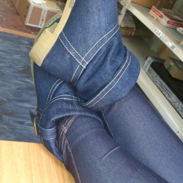 Ботинки из джинсового текстиля - на переменчивую приморскую погоду!