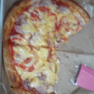 Мясная пицца:)
