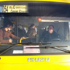 Автобус, который возит людей как дрова... номер X968EK(96)