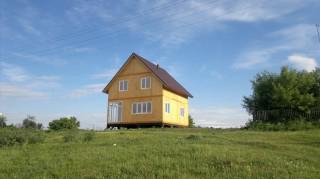"""Канадский дом. Проект """"Ланита"""". НСО, Сузунский район, с. Шайдурово. Май 2012 г."""