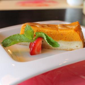 тыквенный пирог с карамелью
