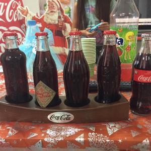 В музее Кока-Колы)