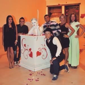 Наша красивая анимационная семья! 💗💗💗💗💗💗 @ Sealife Resort Sharm El Sheikh