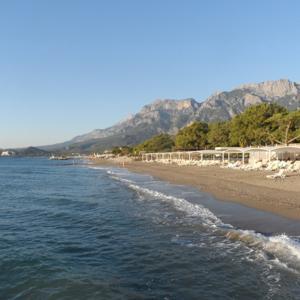 Mirada del mar, Göynük, Kemer, Turkey. Осень, 2014