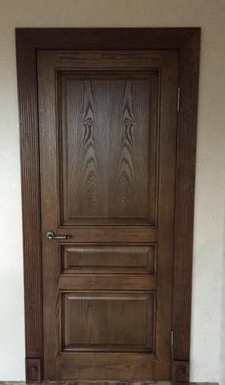 вот дверь, которую мы заказали и нам поставили)