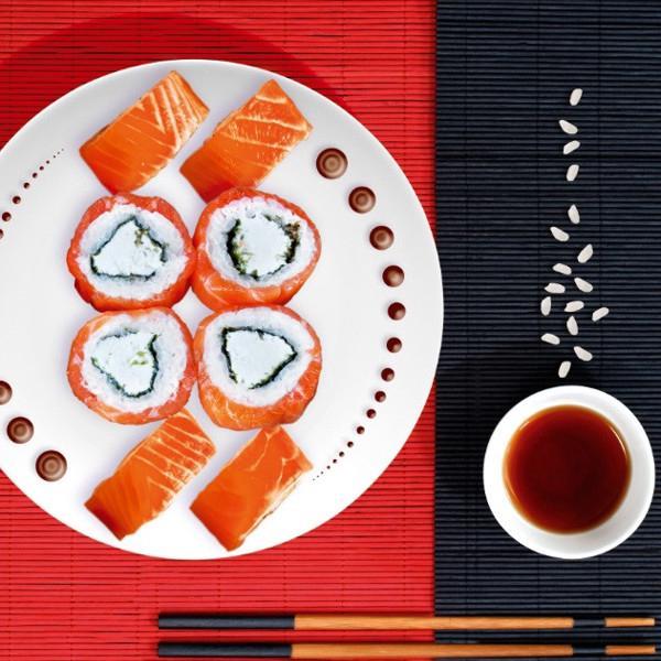 Японское меню по доступным ценам. Филадельфия 190руб