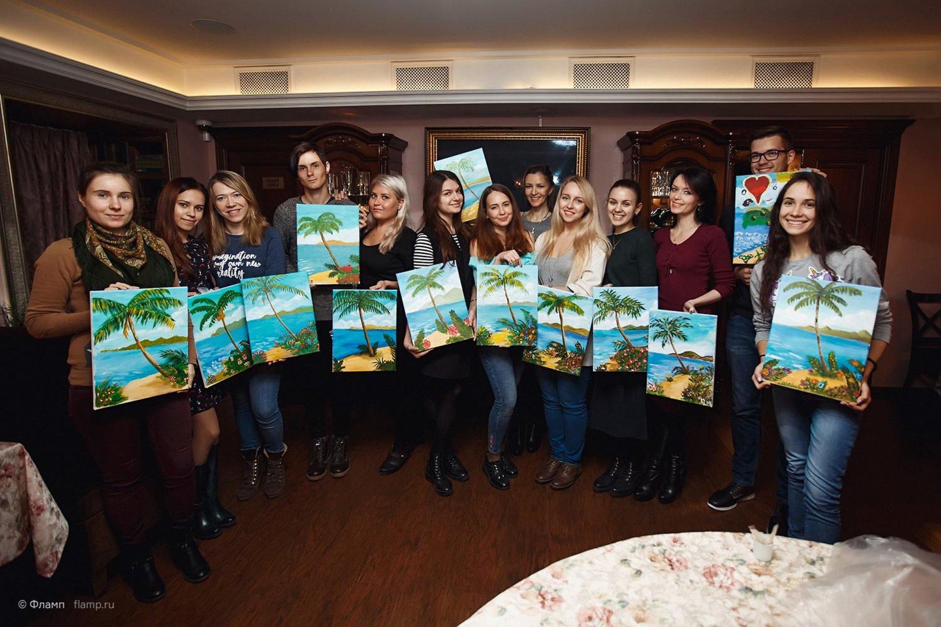 Фламперы на страже искусства: как прошёл мастер-класс от REPINSCHOOL