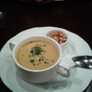 Тыквенный суп. Вкусновкусновкусно.