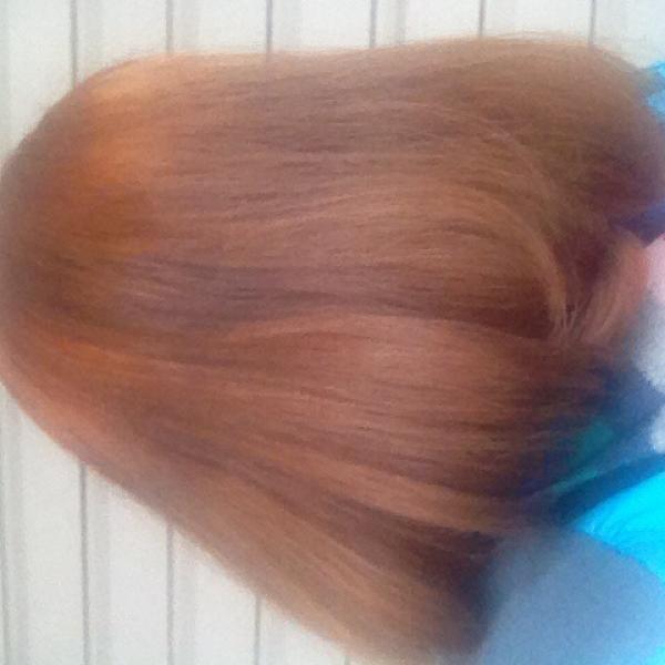 Это по мнению парикмахера красивый и ровный цвет с которым можно ходить