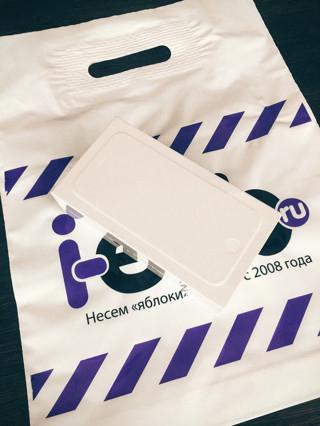 Фирменные пакетики :)