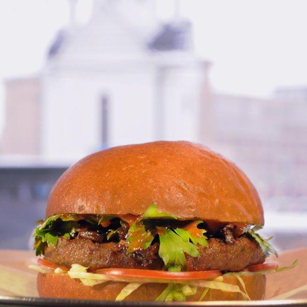 Бургер Вегетарианский на фалафеле