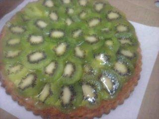 тирольский пирог с киви