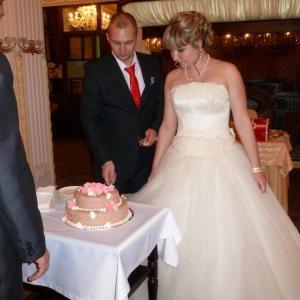 Свадебный торт(((